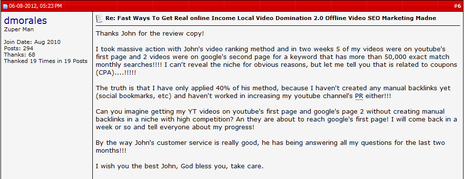 Local Video Domination Review